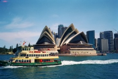 Sydney Opera House with Sydney Harbour