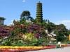Pagoda Decorations in Tiananmen Square, Beijing