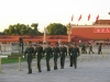 Soldiers marching in Tiananmen Square, Beijing