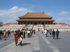 Tourists at the Forbidden City, Beijing