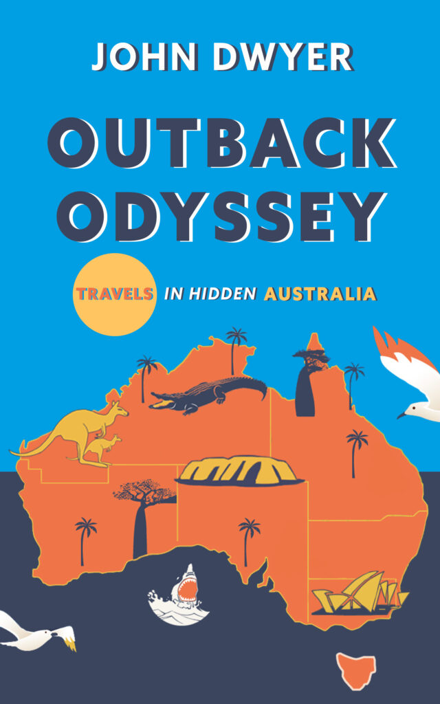 Cover of book Outback Odyssey